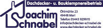 Dachdecker- und Bauklempnereibetrieb Joachim Schnabel